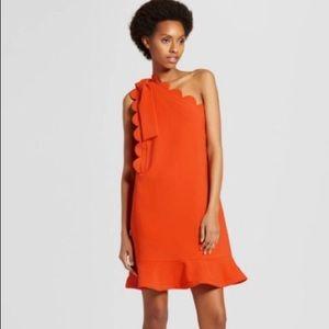 NWOT VictoriaBeckham for Target One shoulder Dress